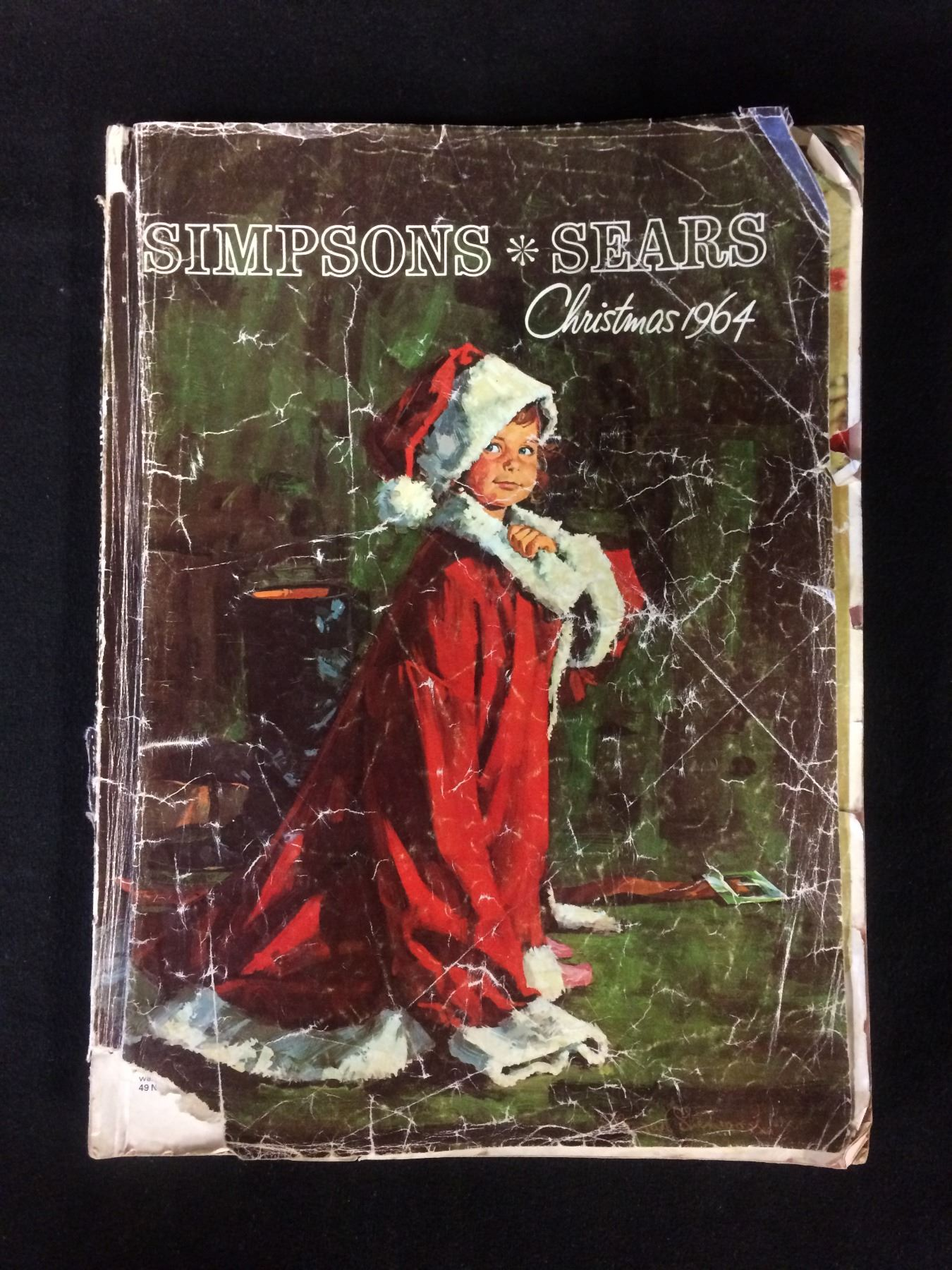 Sears Christmas Catalog.Vintage 1964 Simpsons Sears Christmas Catalogue