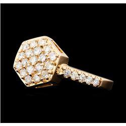 0.50 ctw Diamond Ring - 14KT Rose Gold
