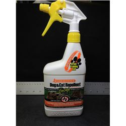 Liquid Fence Dog and Cat Repellent / stop bad habits , harmless to plant &
