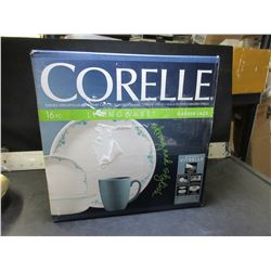 New 16 piece Corelle Dinnerware / 4 cups/plates/bowls/sm plates