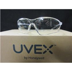 5 New Uvex Clear Safety Glasses by Honeywell