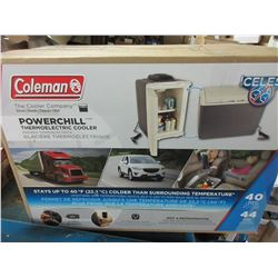 New Coleman Powerchill Thermoelectric Cooler / 12 volt or 110