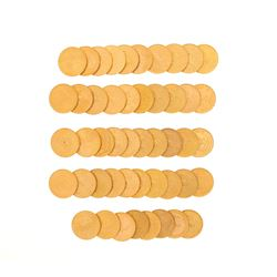 COINS: (48) 24KYG Krugerrands South Africa gold coins.
