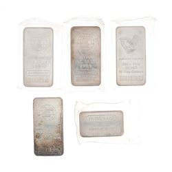 BULLION: (1) Engelhard 10 troy ounce .999 fine silver bar, #C254801 BULLION: (1) Engelhard 10 troy o