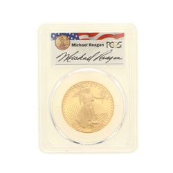 COIN: [1] 1992-W $50 Reagan Legacy Series Gold Eagle Coin; PCGS PR 69; 32920463