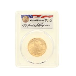 COIN: [1] 1988-P $25 Reagan Legacy Series Gold Eagle Coin; PCGS PR 69; 32946050