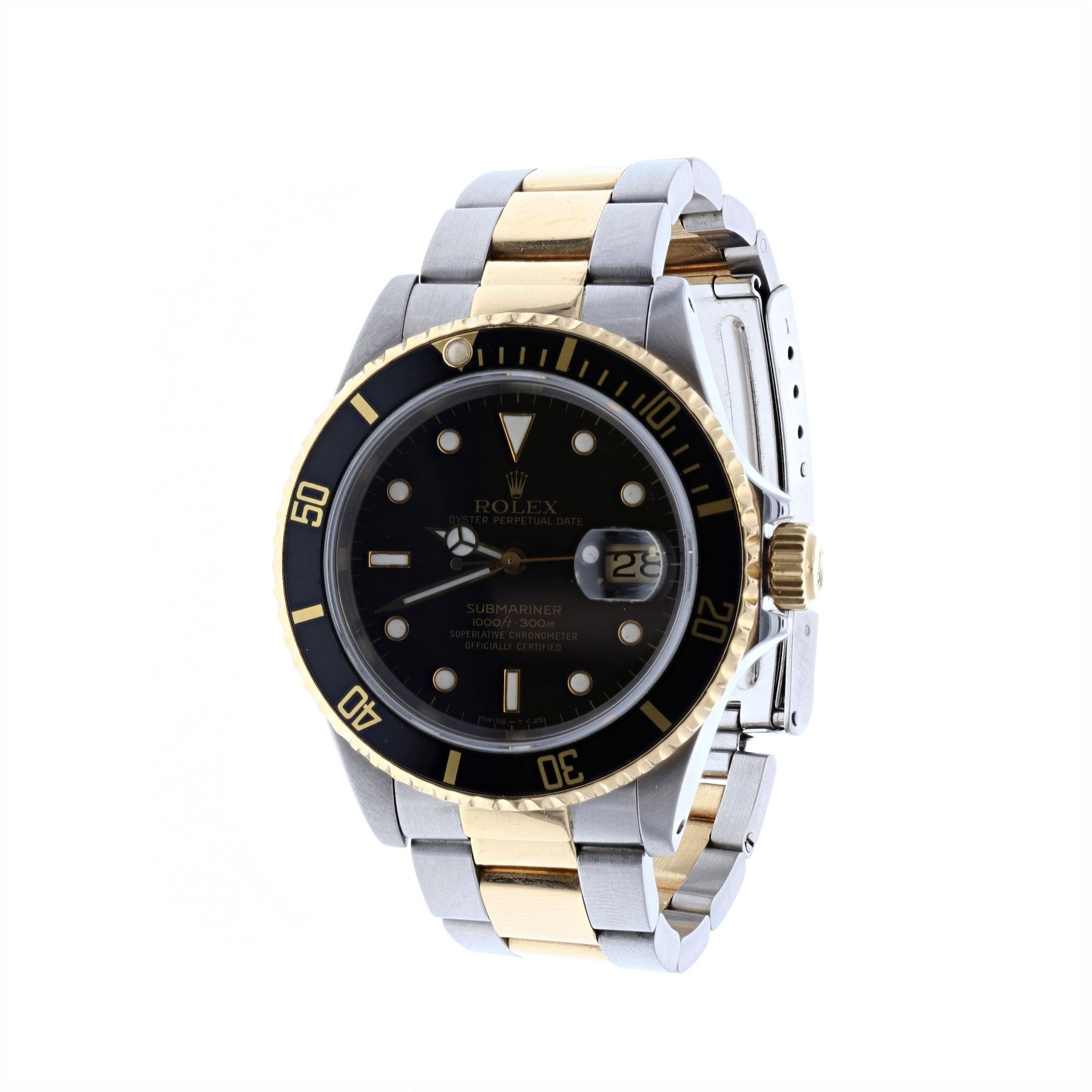 09ca07fdc12 ... Rolex Oyster Perpetual. Loading zoom · Image 1   WATCH   1  Stainless  steel and 18 karat yellow gold gents ...