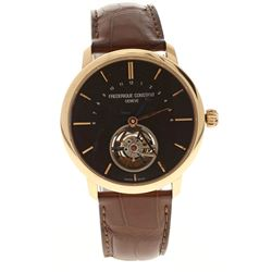 WATCH: [1] Man's Frederique Constant Slimline Limited Edition 19/188 watch, tourbillion movement, S/
