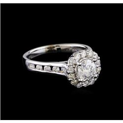1.49 ctw Diamond Ring - 14KT White Gold