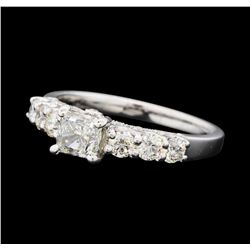1.44 ctw Diamond Ring - 14KT White Gold