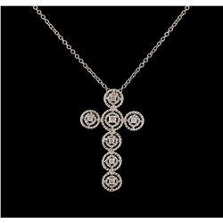 0.28 ctw Diamond Pendant With Chain