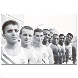 Ali with USA Olympians by Ali, Muhammad