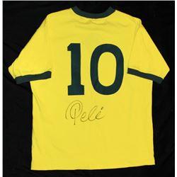Pele Autographed Jersey