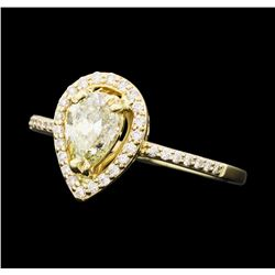 1.03 ctw Diamond Ring - 14KT Yellow Gold