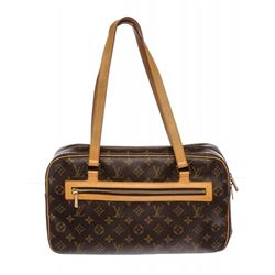 Louis Vuitton Monogram Canvas Leather Cite GM Shoulder Bag