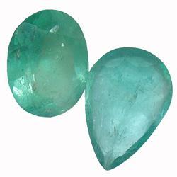 3.87 ctw Fancy Emerald Parcel