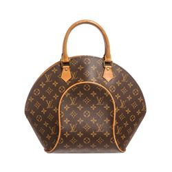 Louis Vuitton Monogram Canvas Leather Ellipse MM Bag