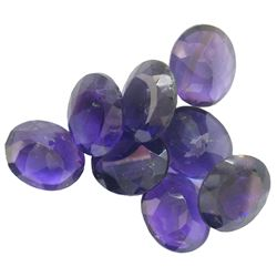 34.39 ctw Oval Mixed Amethyst Parcel