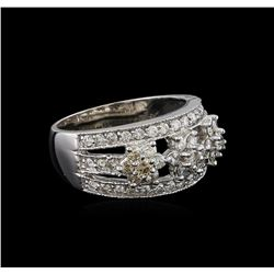 1.04 ctw Diamond Ring - 14KT White Gold