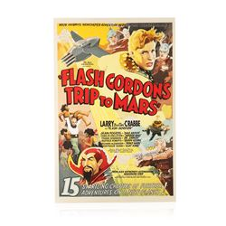 Flash Gordon's Trip to Mars Recreation 1 Sheet Movie Poster
