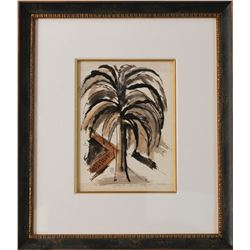 Original Palm Tree by Arthur Secunda