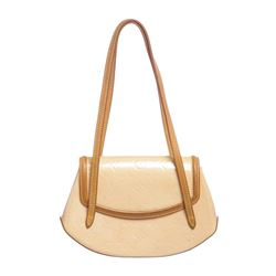 Louis Vuitton Peach Vernis Monogram Leather Biscayne Bay PM Bag
