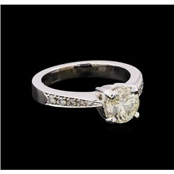 1.67 ctw Diamond Ring - 14KT White Gold