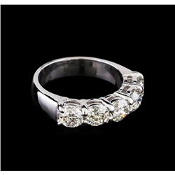 2.53 ctw Diamond Ring - 14KT White Gold
