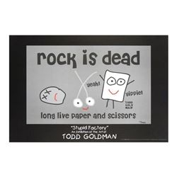 Rock is Dead by Goldman, Todd