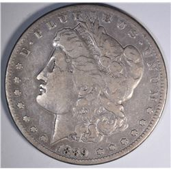 1889-CC MORGAN DOLLAR, F/VF KEY DATE