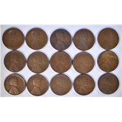 15-1926-S LINCOLN CENTS GOOD-FINE