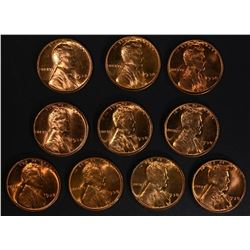 10-BU 1938 LINCOLN CENTS