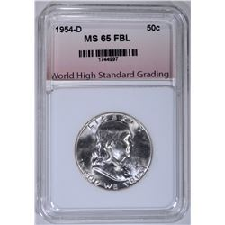 1954-D FRANKLIN HALF DOLLAR WHSG