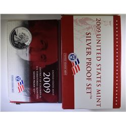 2009-S & 2009-S QUARTER SILVER PROOF SETS