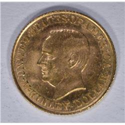 1916 $1.00 GOLD McKINLEY GEM BU