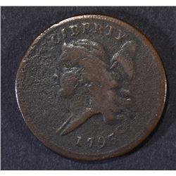 1793 HALF CENT  VF