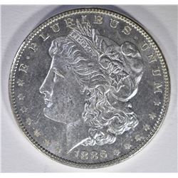 1886 MORGAN DOLLAR  GEM BU  PL