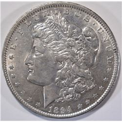 1894-O MORGAN DOLLAR  AU/UNC