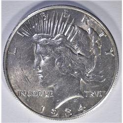 1934-S PEACE DOLLAR  BU