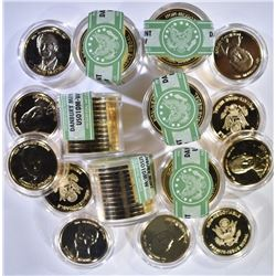 DANBURY MINT PRIVATE ISSUE PRESIDENT COINS: