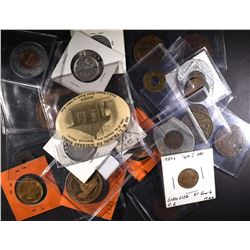 32-TOKENS/MEDALS/BUTTONS NEAT LOT