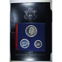 1976 3-PIECE 40% PROOF & 2-1997 PREMIER SETS