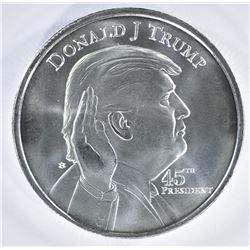 DONALD TRUMP/WHITEHOUSE 1oz SILVER ROUND
