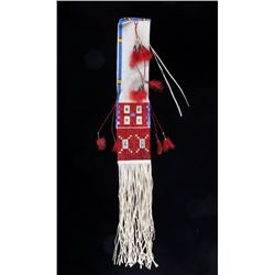 Excellent Sioux Beaded & Quilled Pipe Bag