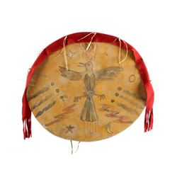 Arapaho Ghost Dance Waterbird Dance Shield 1890