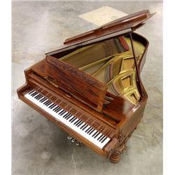 Hallet, Davis & Co. 40D Grand Piano c. 1900-01