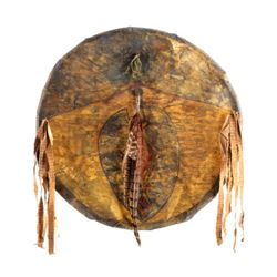 Southern Cheyenne Turtle Clan War Shield 19th C.
