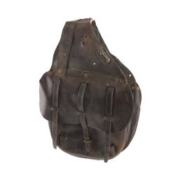 U.S. Cavalry Leather Saddlebags
