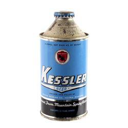 Full Kessler Beer Cone Top Can Helena Montana