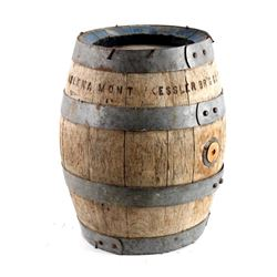 Kessler Brewing Wooden Keg Helena Montana